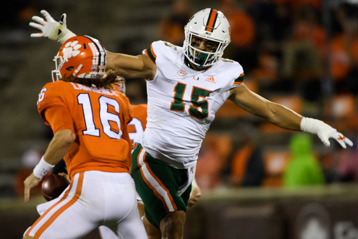 One-sided loss at Clemson shows that Miami isn't back yet – The Miami  Hurricane