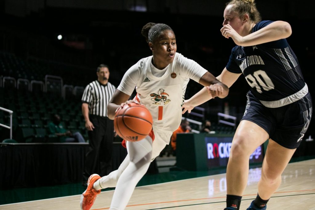 Sidi Baba scores 17 points as Canes dominate North Florida