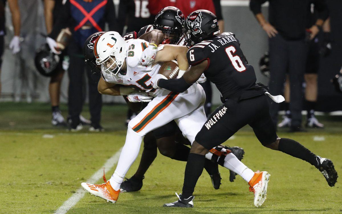 Virginia Tech Presents Defensive Challenge As Hurricanes Look To Continue Momentum In Blacksburg The Miami Hurricane
