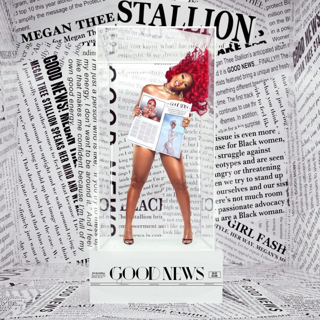 Megan Thee Stallion delivers 'Good News' for the hot girls