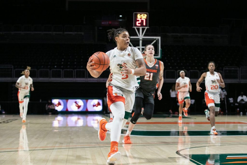 Women's basketball loses first game of season against Syracuse in ACC opener