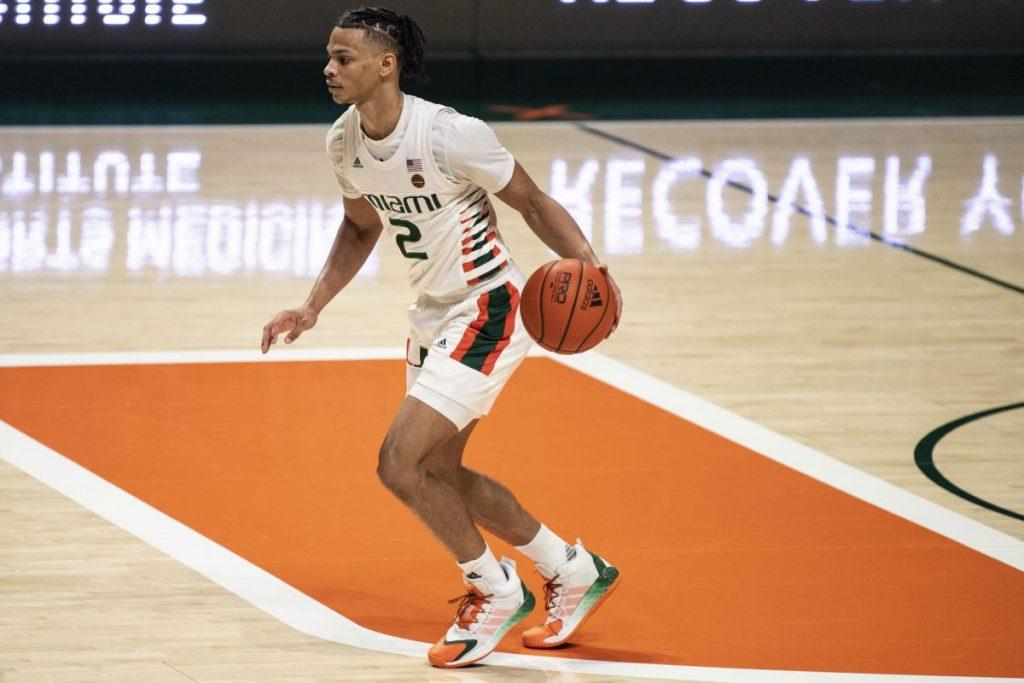 Miami shocks No. 16 Louisville behind Wong's career-best 30 points