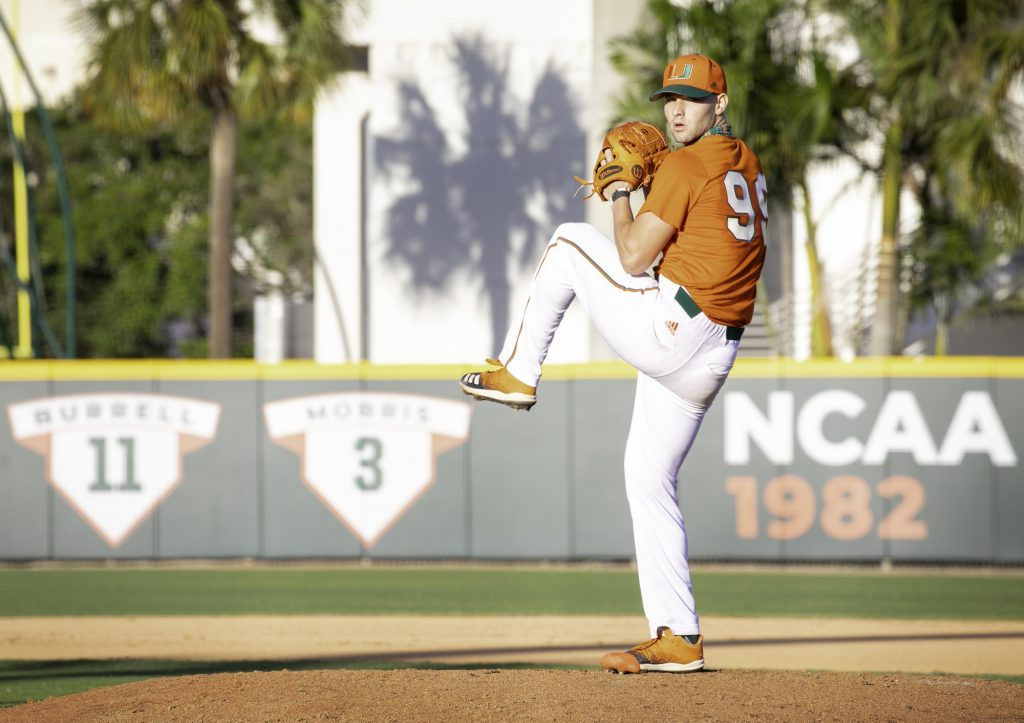 Gino DiMare announces UM's weekend pitching rotation