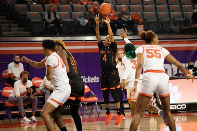 Miami sweeps Clemson for third-straight ACC win