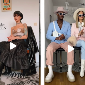 'What I'd wear front row' trend allows TikTokers to celebrate NYFW from home