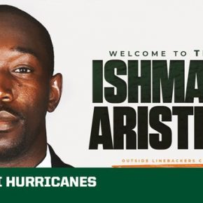 Miami football hires Ishmael Aristide as linebackers coach
