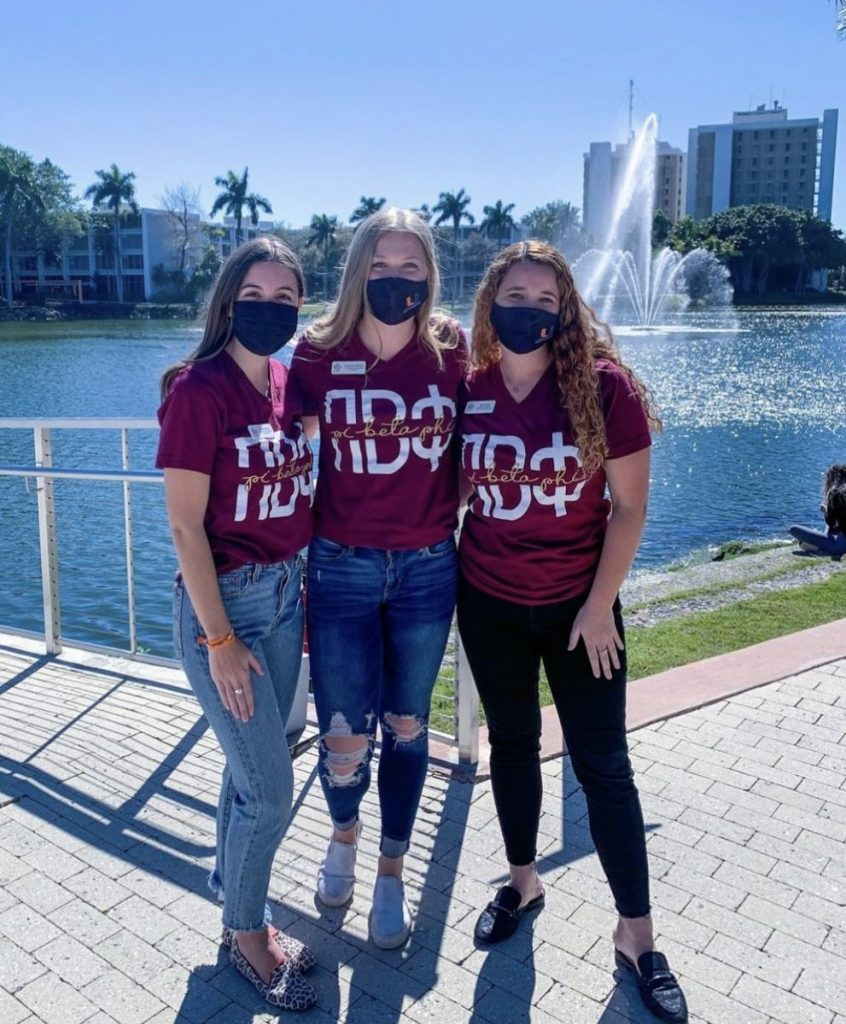 Pi Beta Phi, the newest sorority on campus, is undergoing its recruitment process now.
