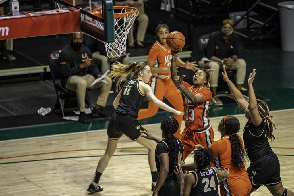 Miami pulls out impressive victory over Wake Forest on Senior Night