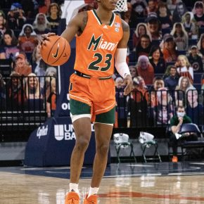 First half mistakes prove detrimental as Canes fall to Virginia 62-51