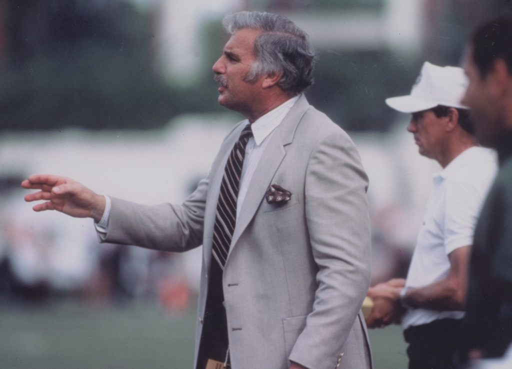 n Schnellenberger's time at UM, he compiled a 41-16 record, two new year's six bowl wins and an unanimous national championship in 1983.