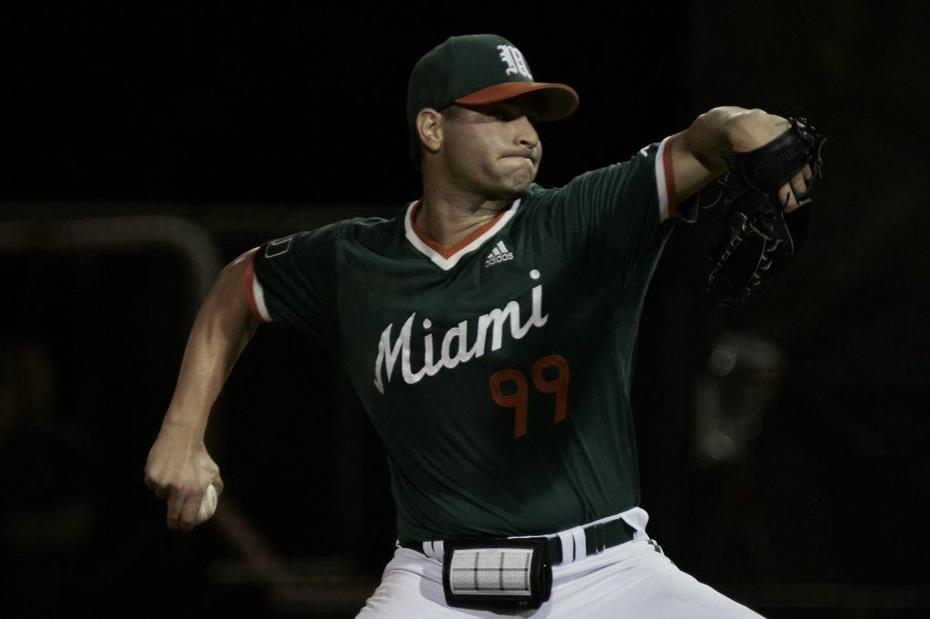 Daniel Federman pitched