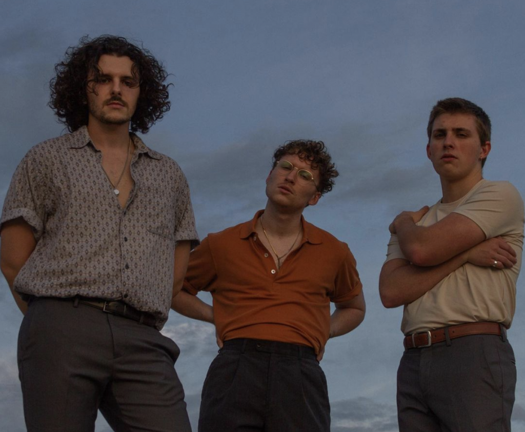 """Florida-based, indie-pop band """"Driveway,"""" shot by Cam Hunter."""
