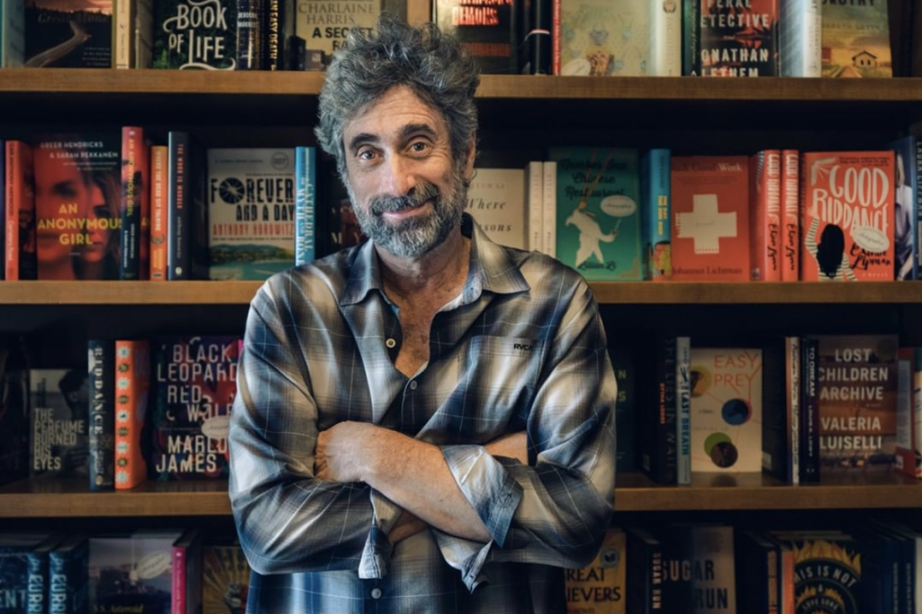 Pictured Mitchell Kaplan, founder of Books & Books.