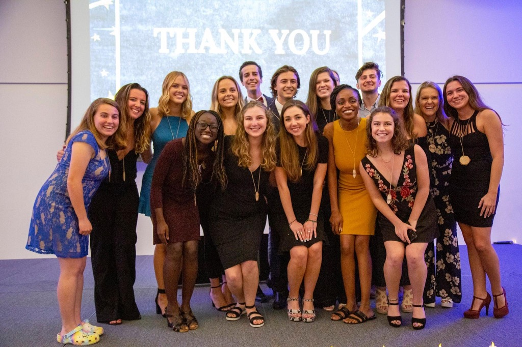 Members of UM's Camp Kesem raise money during their annual Make The Magic gala in 2020.