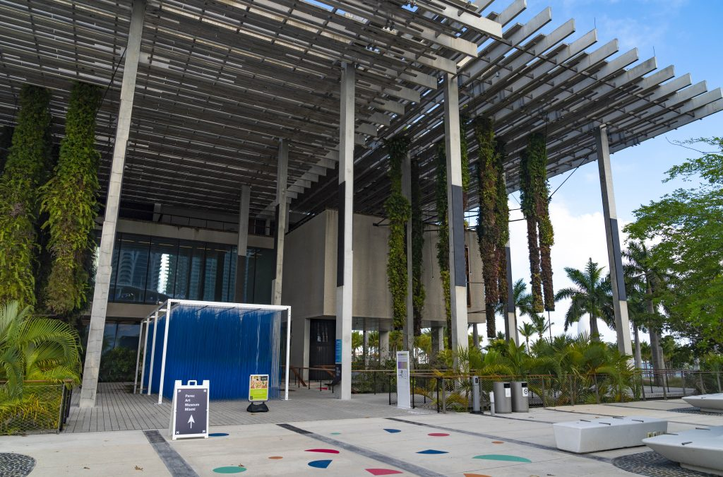 The Pérez Art Museum Miami is a prime example of representing not only contemporary art but reflecting the city's plurality of communities.