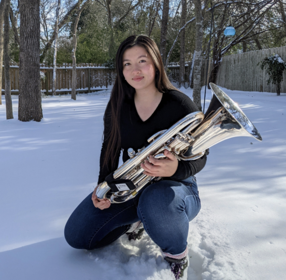 Incoming freshman Natalie Colegrove realized her passion for music when she played the euphonium. Now Colegrove is producing and distributing her own music.