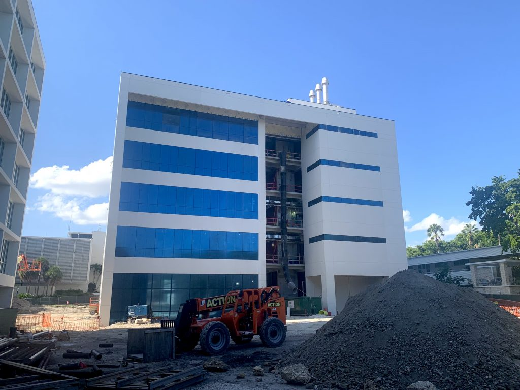 The $60 million Frost Institute for Chemistry and Molecular Science building is scheduled to open