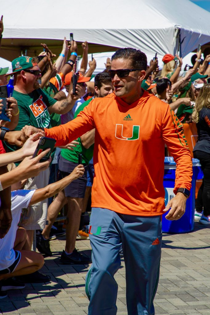 Miami head coach Manny Diaz begins his third year as head coach of the Miami Hurricanes. Diaz also will be serving as the defensive coordinator for the team.