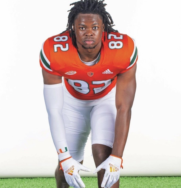 """UM Football wide receiver Jarius Howard: """"Rules on masks and things of that nature are inconsistent.'"""