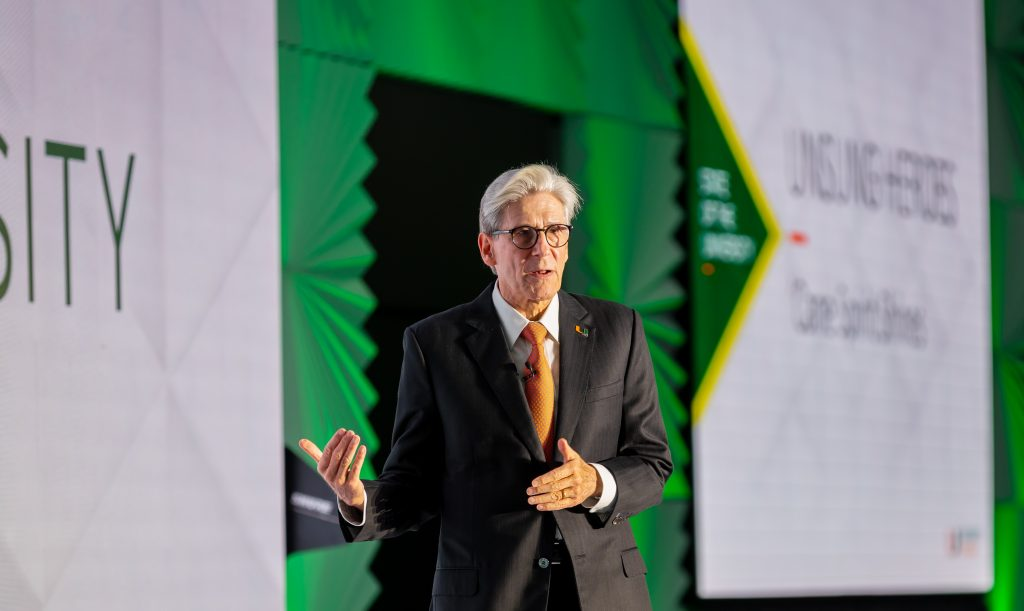 President Frenk spoke about the university's COVID-19 response, decision to reopen to in-person learning and efforts to combat racial injustice at the 'State of the U' town hall Tuesday.