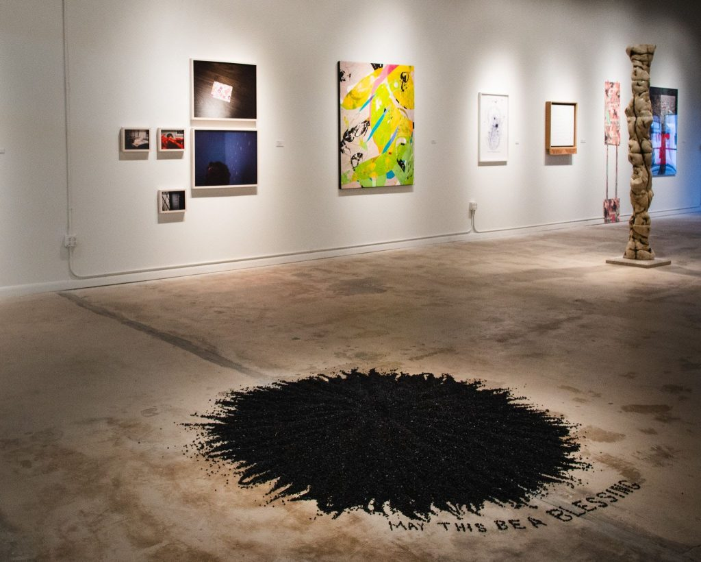"""Black Mandala"" by Billy Linn"