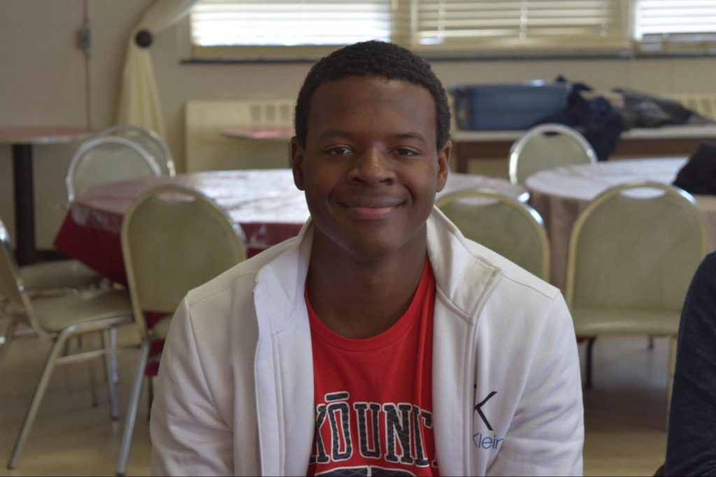 Jacques Calixte, a sophomore at UM studying health sciences and philosophy, first got interested in volunteer work in high school, when he and his football coaches noticed that the school's community service efforts did not serve other local communities.